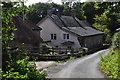 SS8323 : North Devon : Owlaborough Lane by Lewis Clarke