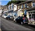 ST2096 : Cars and shops, Tynewydd Terrace, Newbridge by Jaggery