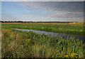 TL3773 : Ouse Fen Canal by Hugh Venables