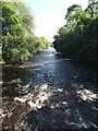 SE1348 : The River Wharfe from Denton Bridge by Neil Theasby