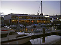 ST5872 : Friday evening in the old docks by Neil Owen