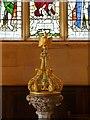 SK3140 : Kedleston All Saints' Church, Font Cover by David Dixon