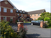 SO7845 : Merrievale Court,  sheltered housing by Jeff Gogarty