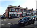 SD3133 : Local businesses, Watson Road, South Shore, Blackpool by Robin Stott