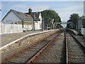 SH5831 : Harlech railway station, Gwynedd by Nigel Thompson