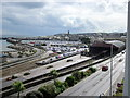 SW4730 : Penzance Station and Harbour by Roy Hughes