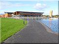 Q8213 : Visitor Centre, Tralee Bay Wetlands by Oliver Dixon
