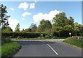 TM1165 : Brockford Road, Mendlesham by Adrian Cable