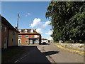 TM1065 : Church Road, Mendlesham by Adrian Cable