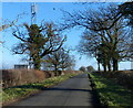 SP6292 : Communications mast along Fleckney Road by Mat Fascione