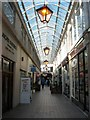 TQ3004 : Imperial Arcade, Brighton by Simon Carey