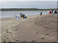 Q3700 : Sea angling competition on Ventry Strand by Oliver Dixon