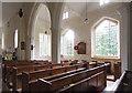 TL6355 : St Augustine, Burrough Green - South arcade by John Salmon