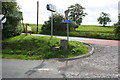 SD8556 : Junction of A65 with road to Otterburn by Roger Templeman
