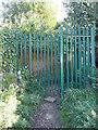 SE1121 : Gate on Elland FP19 by Humphrey Bolton