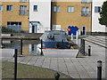 TQ1282 : Emmaline, narrowboat at Engineer's Wharf Moorings by David Hawgood
