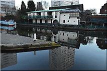 SP0686 : Canal basin off the Birmingham & Fazeley Canal by N Chadwick
