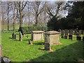 SP1614 : Chest tombs, Sherborne by Derek Harper