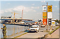 TQ3779 : London (Tower Hamlets), 1986:  West India (South) Dock by Ben Brooksbank
