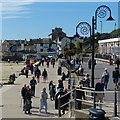 SY3391 : The promenade, Lyme Regis by Robin Drayton
