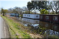 SU8300 : House Boats, Chichester Canal by N Chadwick