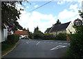TM1166 : Brockford Road, Brockford Street by Adrian Cable