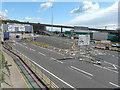 TR3241 : Recently created bus & coach parking bays, Eastern Docks by John Baker