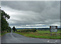 NZ0489 : Country road near Rothley Shield East (2) by Stephen Richards