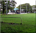 SO2508 : Recreation Ground grandstand, Blaenavon by Jaggery