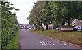 NS7247 : Entering Glassford by Richard Dorrell