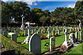SZ1192 : Pilot Officer C H Hight - a tribute: Bournemouth East Cemetery (Boscombe), Commonwealth War Graves (2) by Mike Searle