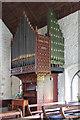 TL5348 : St Mary, Great Abington - Organ by John Salmon