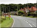 TF6916 : A47, Lynn Road, at East Winch by David Dixon
