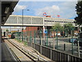 TQ3982 : West Ham railway and DLR station, Greater London by Nigel Thompson