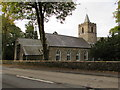 SO2508 : Roadside view of St Peter's church, Blaenavon by Jaggery