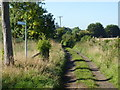 SO9645 : End of School Lane, Wick, Pershore (2) by Jeff Gogarty