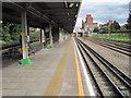 TQ4884 : Dagenham Heathway Underground station, Greater London by Nigel Thompson