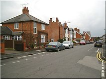 SP2871 : East on Queen's Road, Kenilworth: north side by Robin Stott