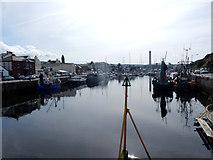 SC2484 : Peel Harbour from swing bridge by Stephen Darlington