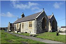 SH3568 : St. Beuno's Church, Aberffraw by Jeff Buck