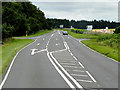 TL8198 : Crossroads on A1065 near to Bodney by David Dixon