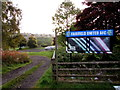 SO2604 : Entrance to the Ravine Ground Garndiffaith by Jaggery