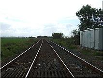 SD4774 : Railway towards Carnforth by JThomas