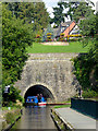 SJ2837 : Chirk aqueduct and tunnel, Shropshire by Roger  Kidd