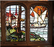 TQ3180 : Stained glass windows, Two Temple Place by David Hawgood