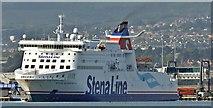 "J3778 : The ""Stena Superfast VII"", Belfast (September 2015) by Albert Bridge"