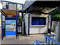 ST6078 : Ticket machine, Filton Abbey Wood railway station by Jaggery