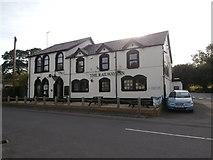 ST1095 : The Railway Inn, near Nelson by John Lord