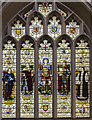 ST7564 : Heroes of the West Country window, Bath Abbey by Julian P Guffogg