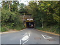 TL0702 : Railway bridge over Toms Lane, Kings Langley by Malc McDonald